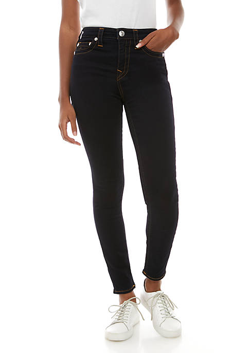 High Rise Halle Contour Skinny Jeans