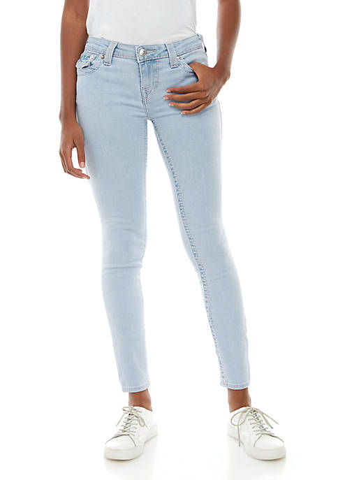 Halle Big T Flap Skinny Jeans