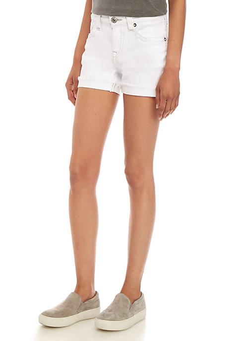 Jennie Cuff Denim Shorts