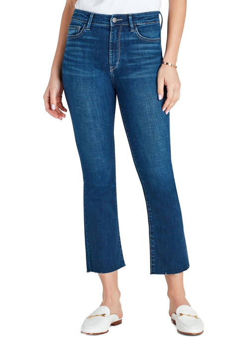 Womens Stiletto Cropped Bootcut Jeans