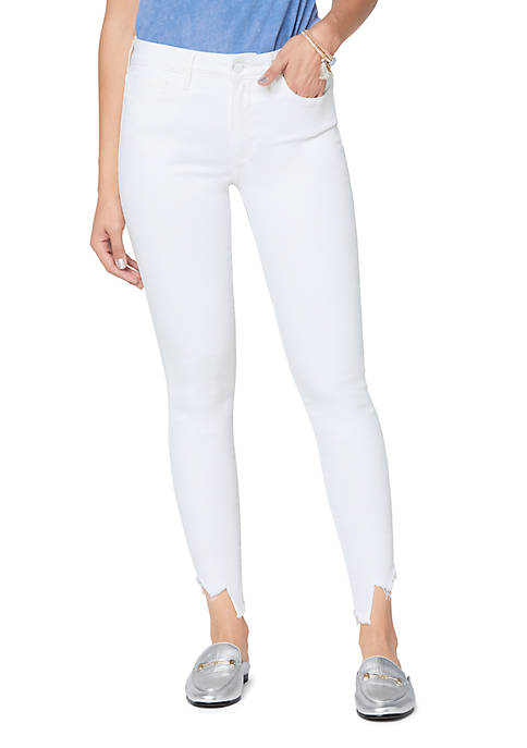Stiletto Skinny Crop Jeans