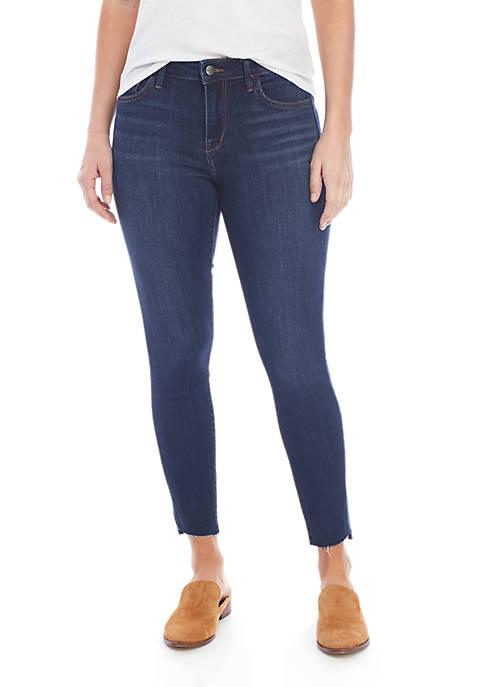 Sam Edelman Kittern Mid Rise Cropped Jeans