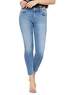 Sam Edelman Denim Kitten Mid Rise Crop Jeans