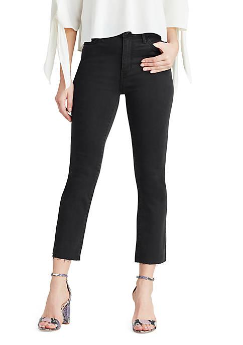 Stiletto High Rise Crop Bootcut Jeans