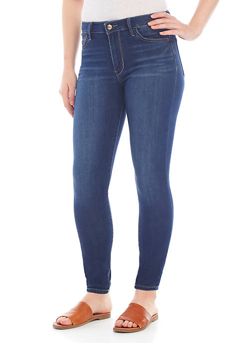 Stiletto High Rise Skinny Ankle Jeans