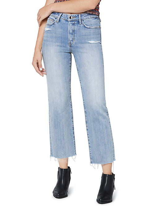 Sam Edelman Denim Chelsea Wide Leg Crop Jeans
