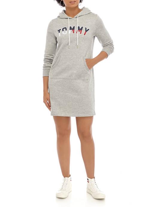 Womens Graphic Hoodie Dress