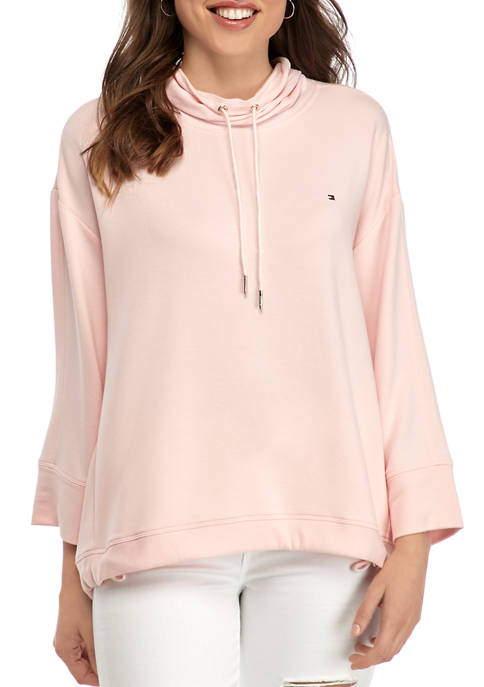 Womens Funnel Neck Pullover