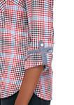 Womens Roll Tab Colony Check Shirt