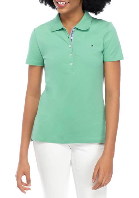 Womens 5 Button Polo Shirt