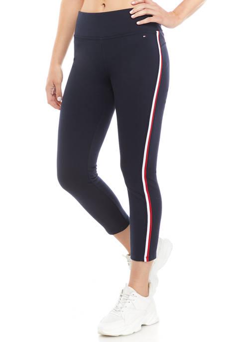 Tommy Hilfiger Womens Global Stripe Leggings