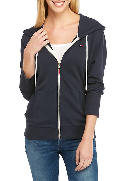 Womens Flag Hoodie Jacket