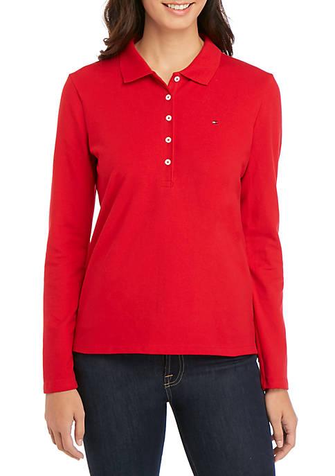 5 Button Polo Shirt