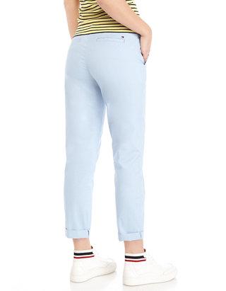 Tommy Hilfiger Womens Hampton Chino Pant-Solid