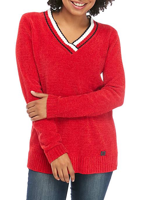 Chenille Cricket Sweater