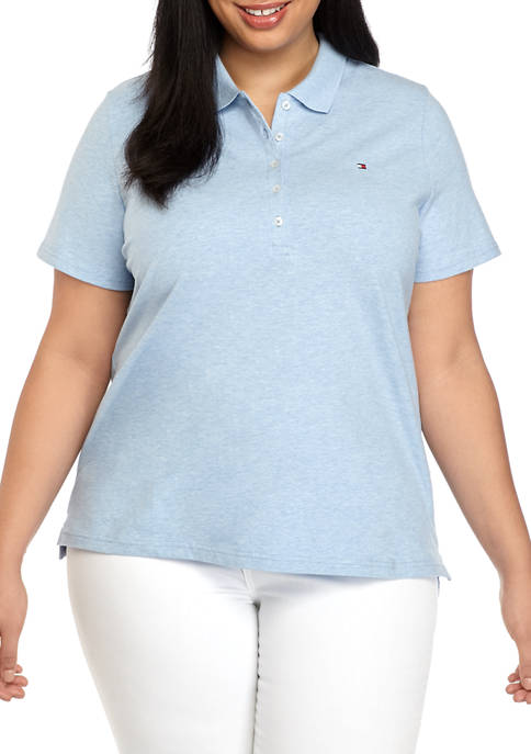 Tommy Hilfiger Plus Size Short Sleeve Polo Shirt