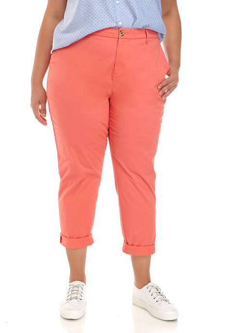 Plus Size Hampton Chino Pants