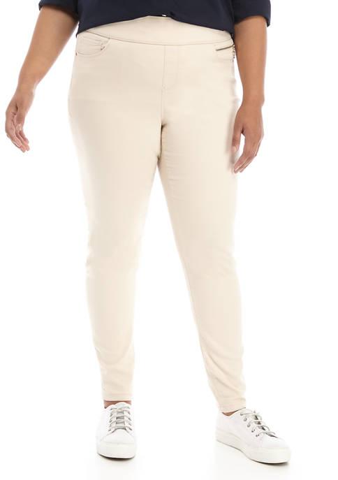 Plus Size Gramercy Sateen Pants