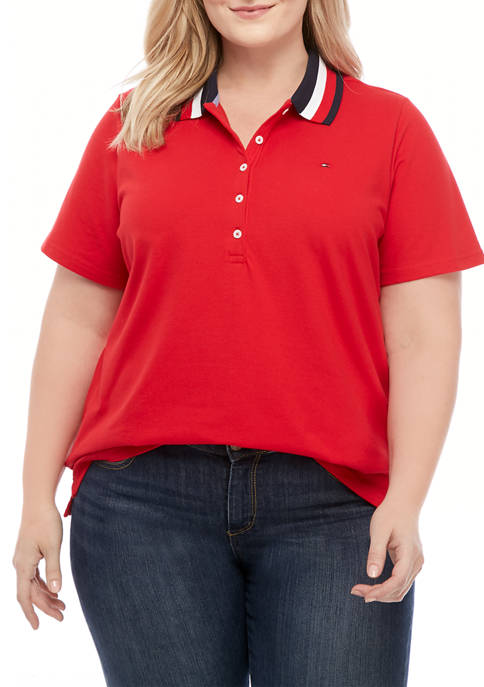 Plus Size Heritage Polo Shirt