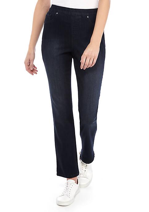 Womens Pull On Denim Jeans - Average