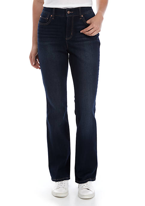 Kim Rogers® 5 Pocket Boot Cut Denim Jeans