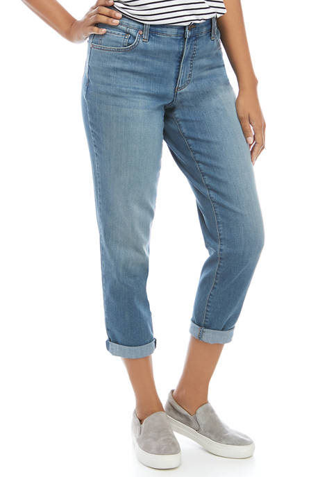 Kim Rogers® Womens Girlfriend Fit Jeans