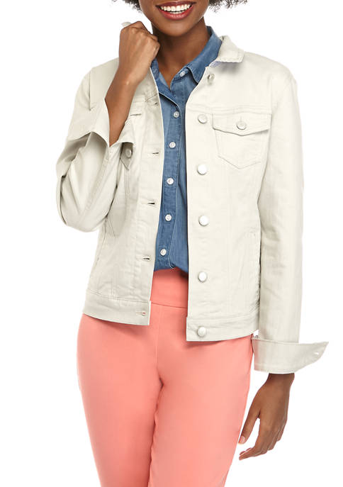 Kim Rogers® Womens Denim Jacket