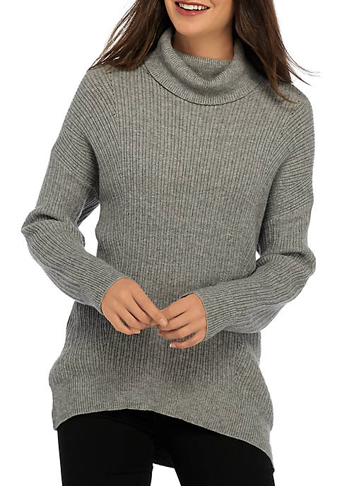 New Directions® Dolman Sleeve Ribbed Turtleneck Sweater