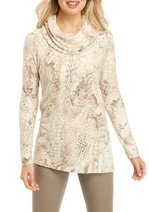 New Directions® Dream Soft Cowl Neck Top
