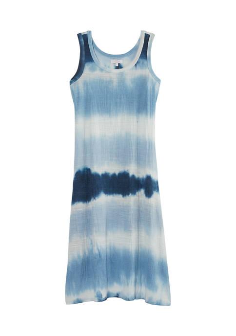 Womens Studio Tie Dye Maxi Dress