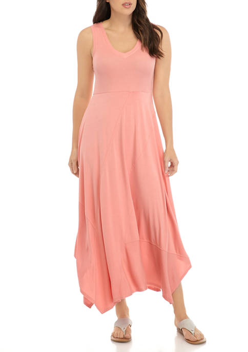 New Directions® Womens Sleeveless V Neck Knit Maxi