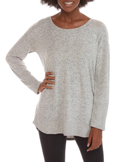 Womens Studio Front Seam Long Sleeve Top