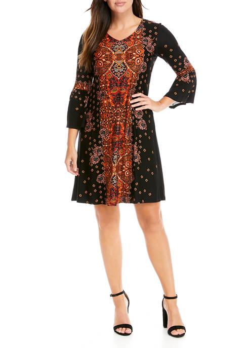 Womens Julianna Crepe Dress