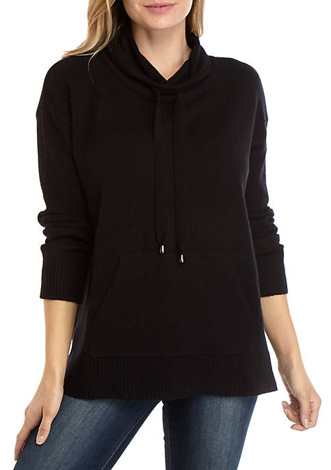 Womens Funnel Neck Sweater