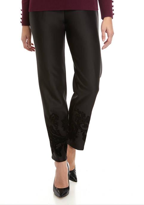Womens Scuba Slim Leg Pants