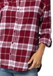 Plus Size NCAA South Carolina Gamecocks Boyfriend Plaid Shirt