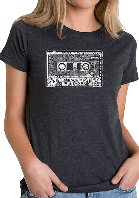 LA Pop Art Premium Blend Word Art T-shirt