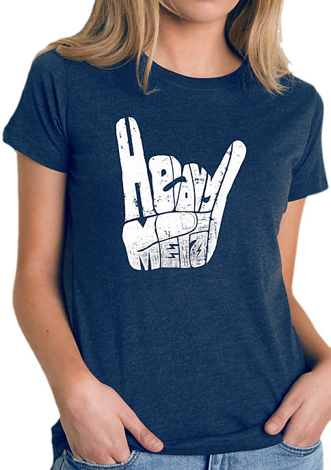 Word Art T-Shirt- Heavy Metal