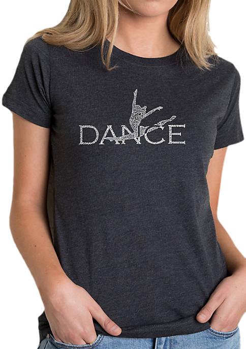 Word Art T-Shirt- Dancer