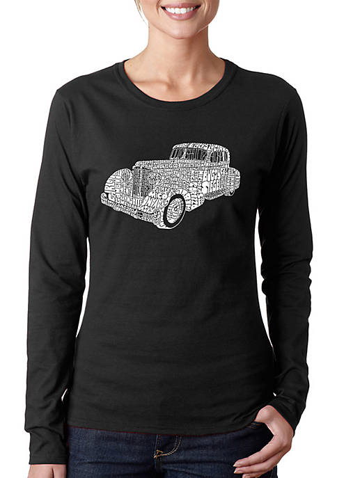 Word Art Long Sleeve T-Shirt - Mobsters