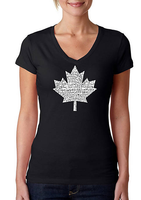 Word Art T Shirt – Canadian National Anthem