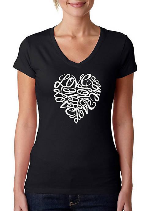 Word Art T Shirt – Love