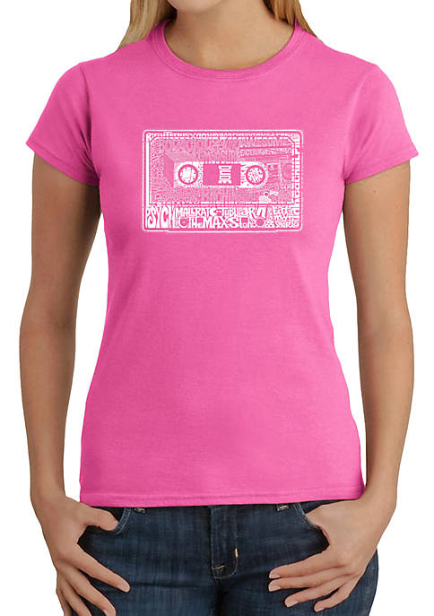 LA Pop Art Word Art T Shirt