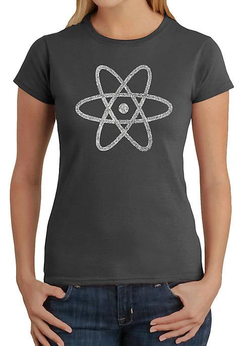 Word Art T Shirt – Atom