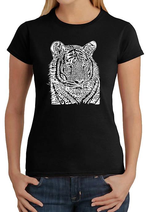 Word Art T-Shirt - Big Cats