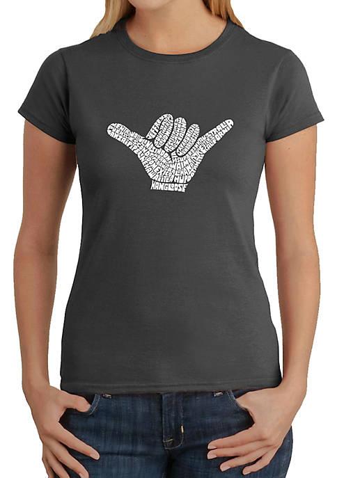 Word Art T Shirt – Top Worldwide Surfing Spots