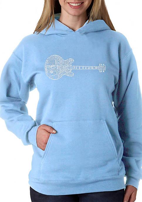 Word Art Hooded Sweatshirt - Blues Legends