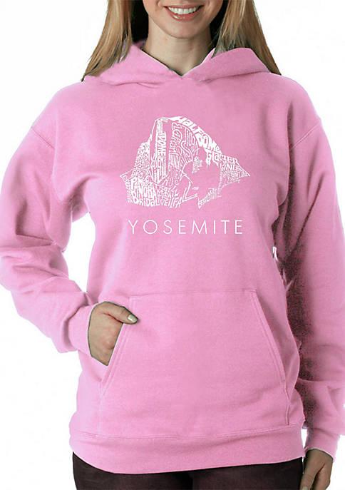 Word Art Hooded Sweatshirt -Yosemite