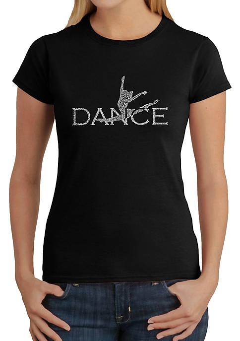 Word Art T-Shirt - Dancer