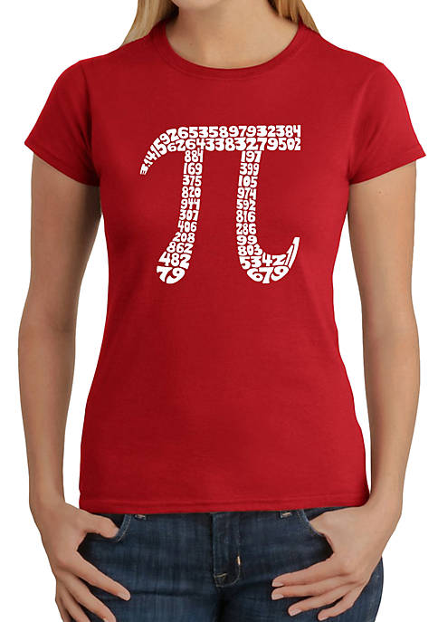 Word Art T-Shirt - The First 100 Digits of Pi